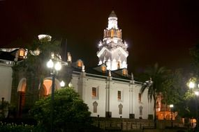 Church of Quito Ecuador