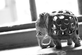 figure of a elephant as antiques