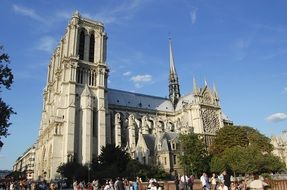 Notre Dame is a cathedral in paris