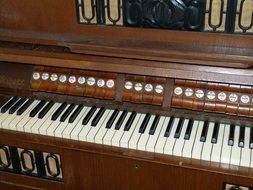 harmonium instrument keyboard
