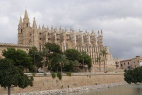 catholic cathedral in Palma de Mallorca, Spain