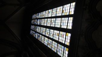 window in a church as a work of art