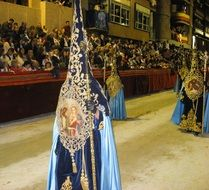 Parade on holy week in spain
