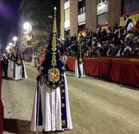 Holy Week procession in Spain