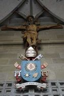 crucified jesus in Konstanz Cathedral