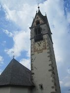 Church tower in South Tyrol
