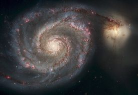 spiral galaxy milky way whirlpool