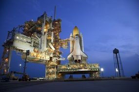 rollout atlantis space shuttle