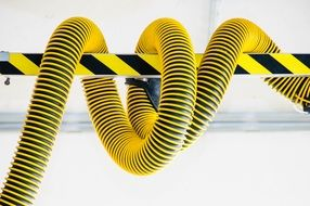 technology fire hose yellow