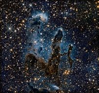 eagle nebula pillars of creation m16