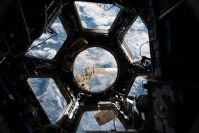big international space station