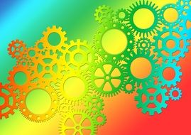 interaction of gears together
