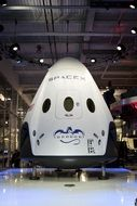 spacecraft spacex module