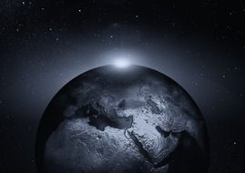 earth globe universe all space