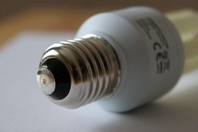 energy-saving light bulb