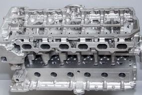 closeup cylinder head
