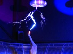 experiment in Tesla coil