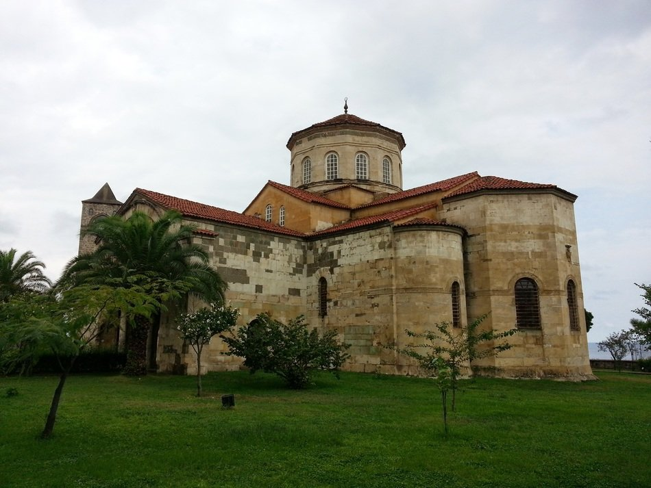 Hagia Sophia, formerly Greek Orthodox church, turkey, trabzon