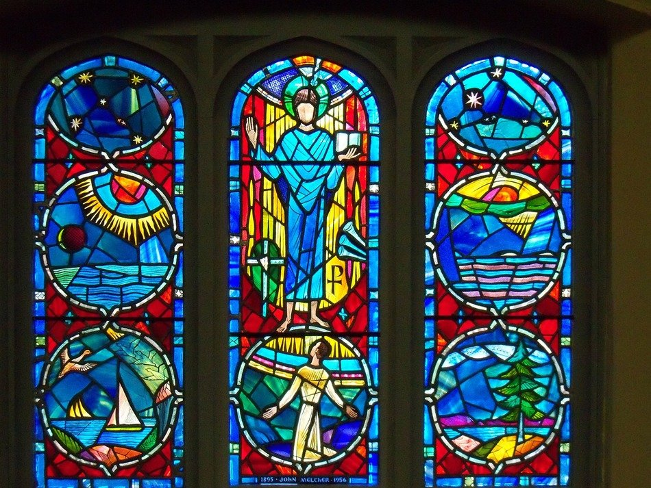 color stained glass windows