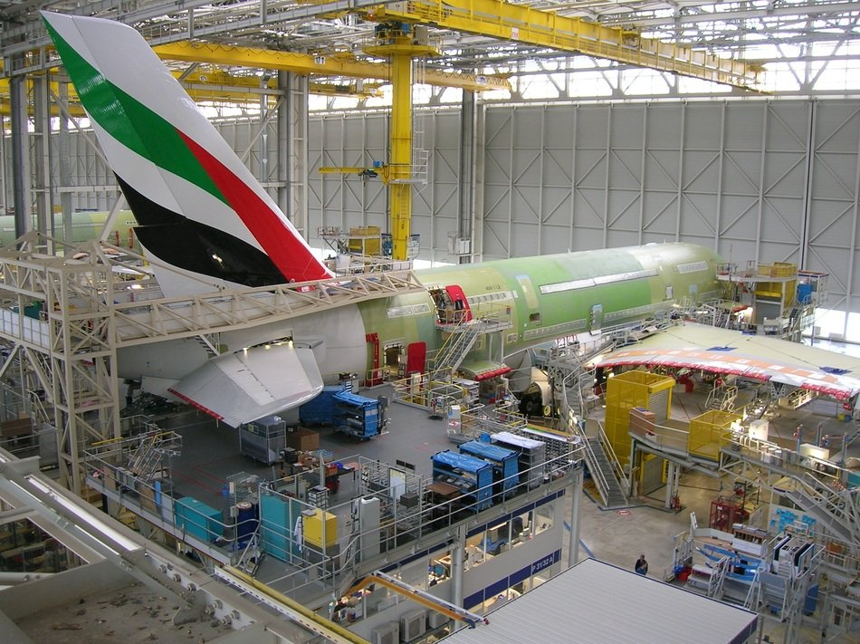 airbus production completion