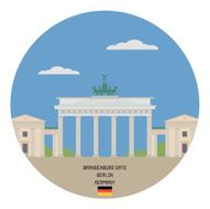 brandenburg gate berlin germany N2