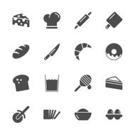 Bakery Icons - Gray Series N2