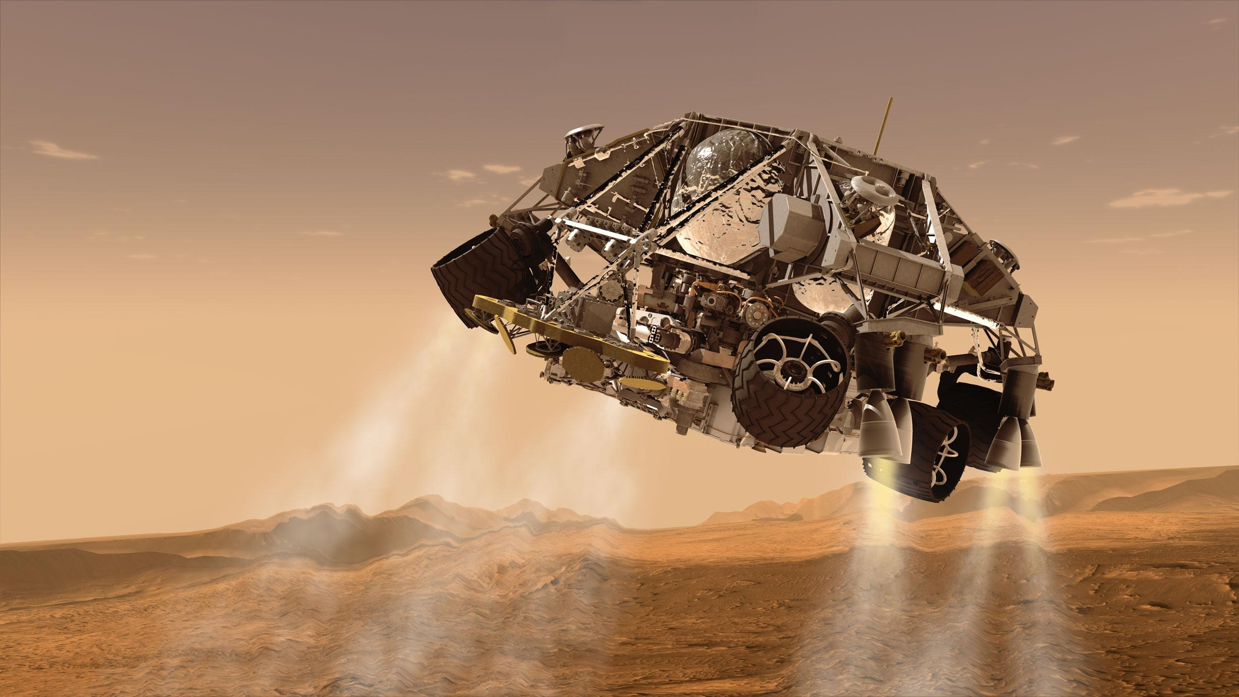 mars rover landing - 1024×576