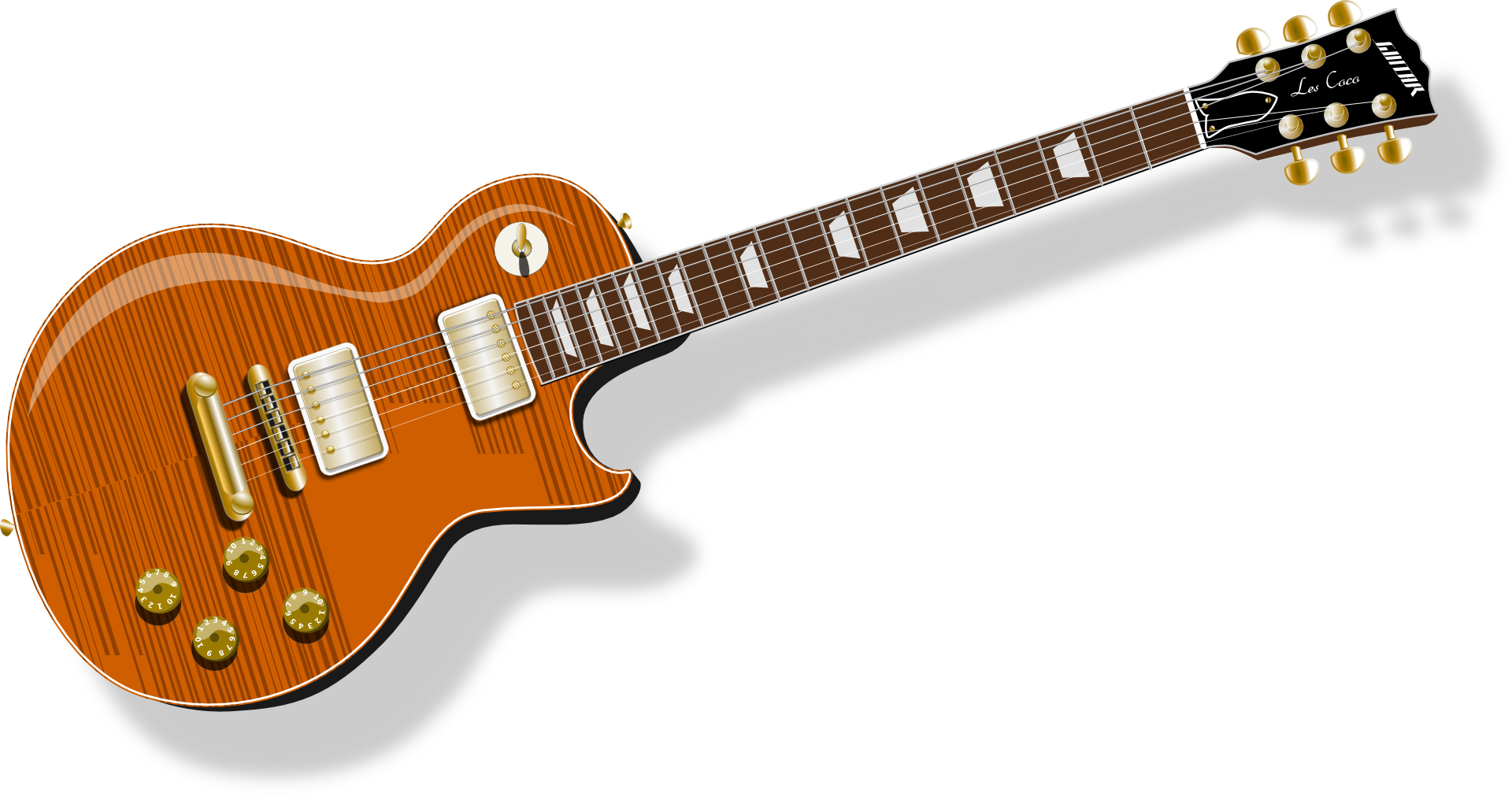 guitar electric gibson les paul n2 free image