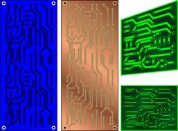 circuit boards drawing