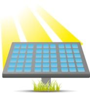 clipart of the solar cells