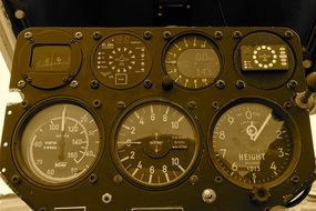 dashboard dials panel