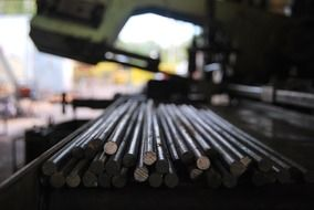metal rods in industry