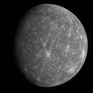 mercury planet surface solar system