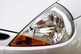 car light front glass bulb