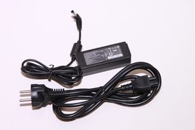 Black electronic adapter