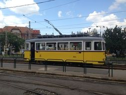 electric old tram
