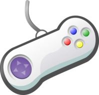 Game controller clipart