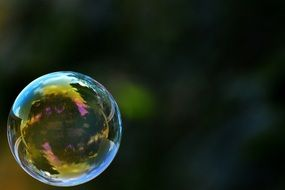 soap bubble colorful ball N2