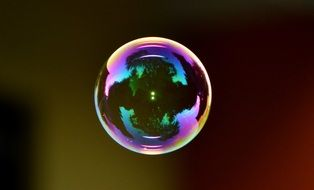 soap bubble colorful ball N5