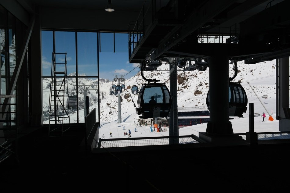 lift on a ski slope