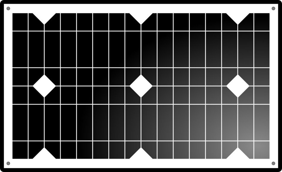 clipart of solar panel