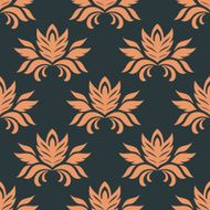 Floral seamless floral pattern