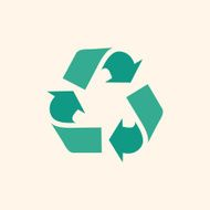 Recycle Flat Icon N4