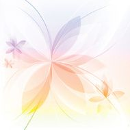 Floral abstract background N638