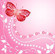 Pink Butterfly N10