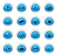 Blue Icons - Soccer N2