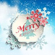 Christmas greeting card illustration N3