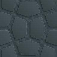 Dark seamless vector background with 3D effect N76