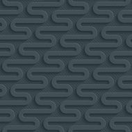 Zig-zag dark seamless vector background with 3D effect N5