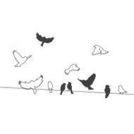 Birds On A Wire N6